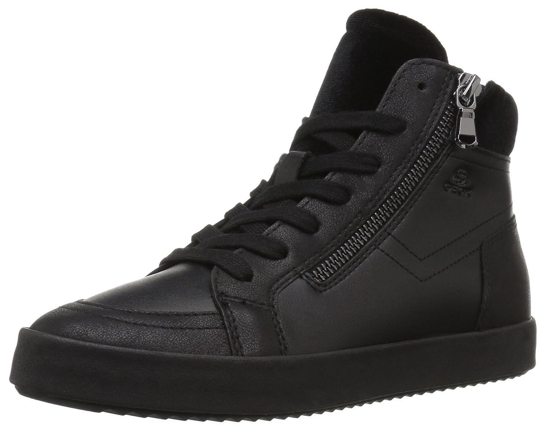 Black Geox Womens Blomiee 2 Fashion High Top Sneaker Sneaker