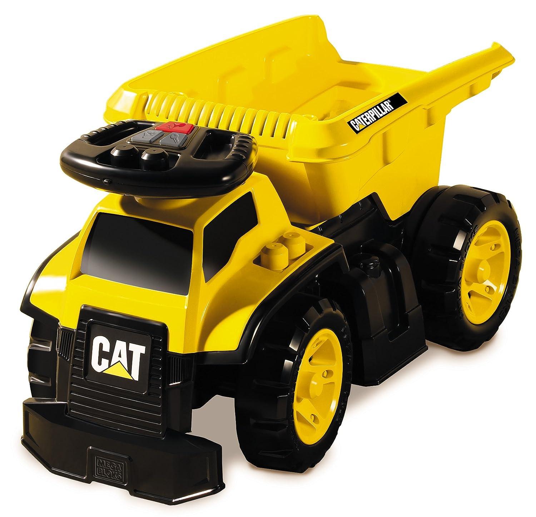 Amazon.com: Mega Bloks Cat 3 - In - 1 Ride - On Dump Truck: Toys ...