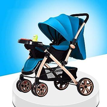 GONGFF El Carrito Para Bebés Se Puede Sentar Y Acostarse Con Facilidad. Doble El Carrito