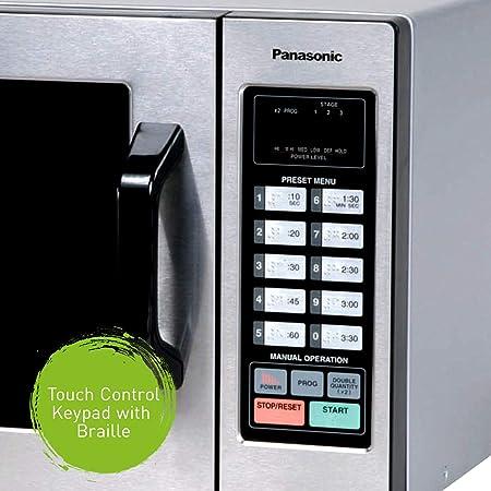 Panasonic NE 1054F Stainless 1000W 0.8