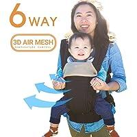 toutes les saisons 360ergonomique Porte-bébé–6position, facile d'allaitement, ne nécessite Aucun Infant Insert, adaptation au développement de bébé (naissance, Infant & Toddler), Meilleur Cadeau de Baby Shower–en attente de Brevet