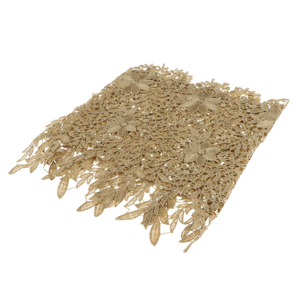 Kost/üm Braun IPOTCH 1 Yard 28,5cm Spitzenband Spitze Trimmen Zierrand Spitzenbesatz f/ür Kleidung Brautkleid