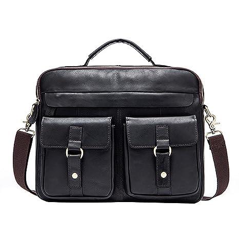 Men Vintage Laptop Shoulder Bag Tote Messenger Crossbody Satchel Casual Handbag
