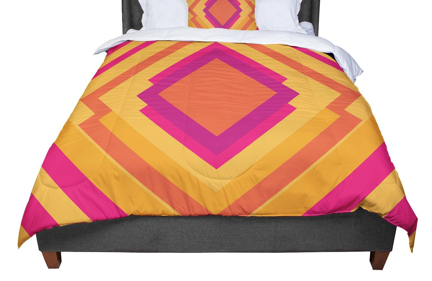 Cal King Comforter KESS InHouse Nick Atkinson Skull King 104 X 88