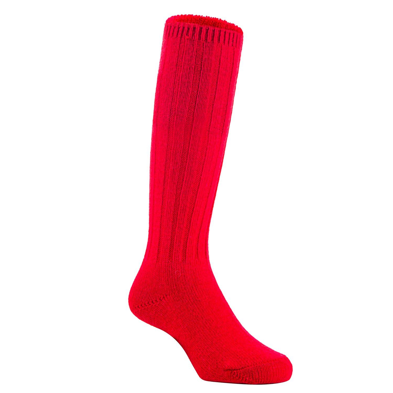 Lian LifeStyle Unisex Children 2 Pairs Knee High Wool Boot Socks MFS02 3 Sizes 14 Colors
