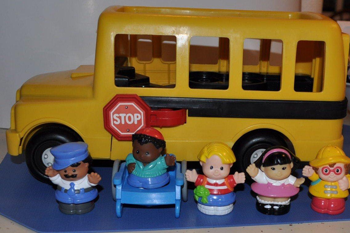 Amazon.com: Vintage Little People School Bus (1995), Sonya Lee ...