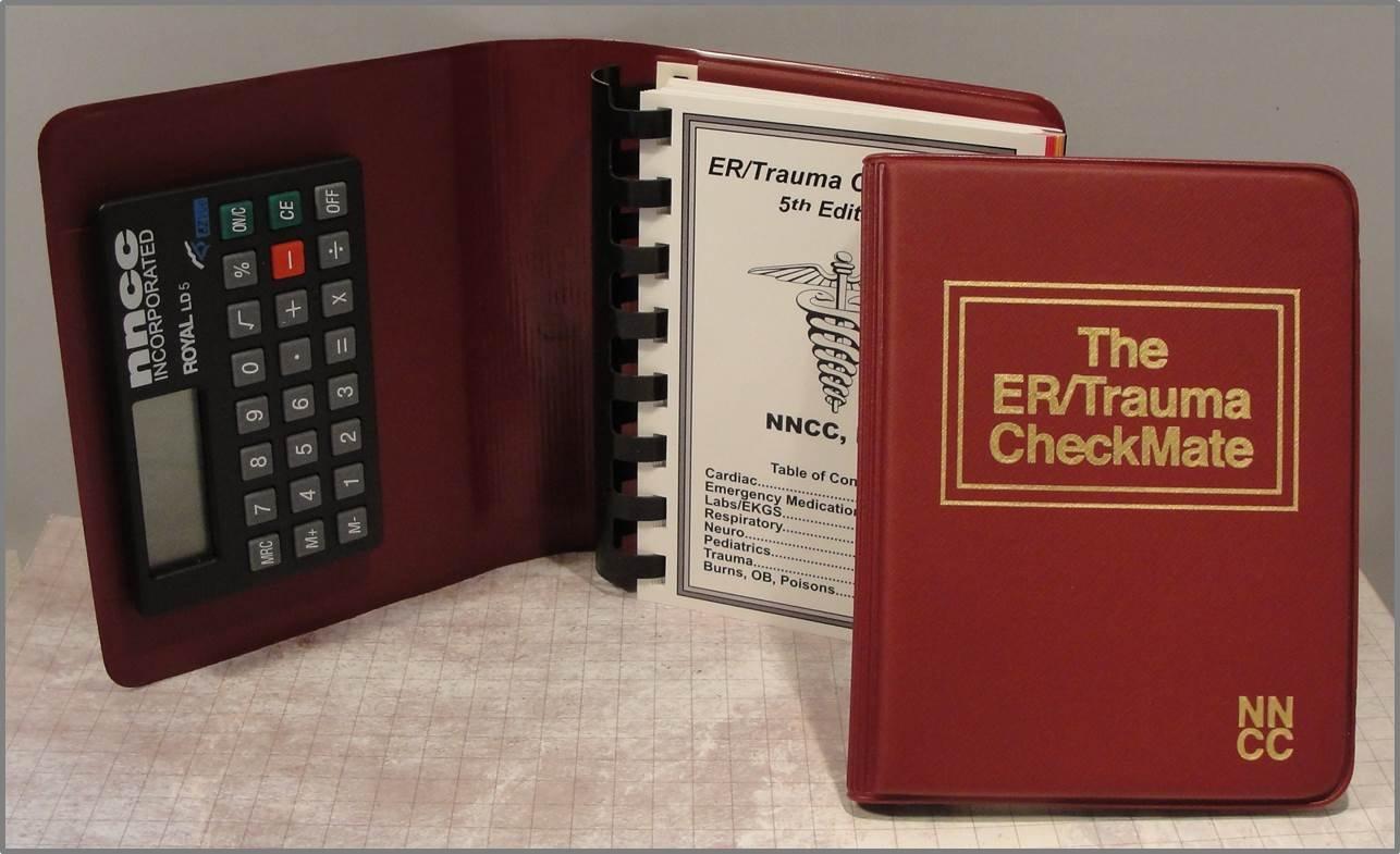 ER/Trauma CheckMate Emergency Pocket Reference: NNCC Inc: 9780974455372:  Amazon.com: Books