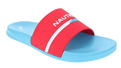 62d1d3f8568d2 Nautica Men's Athletic Slide Comfort Sandal