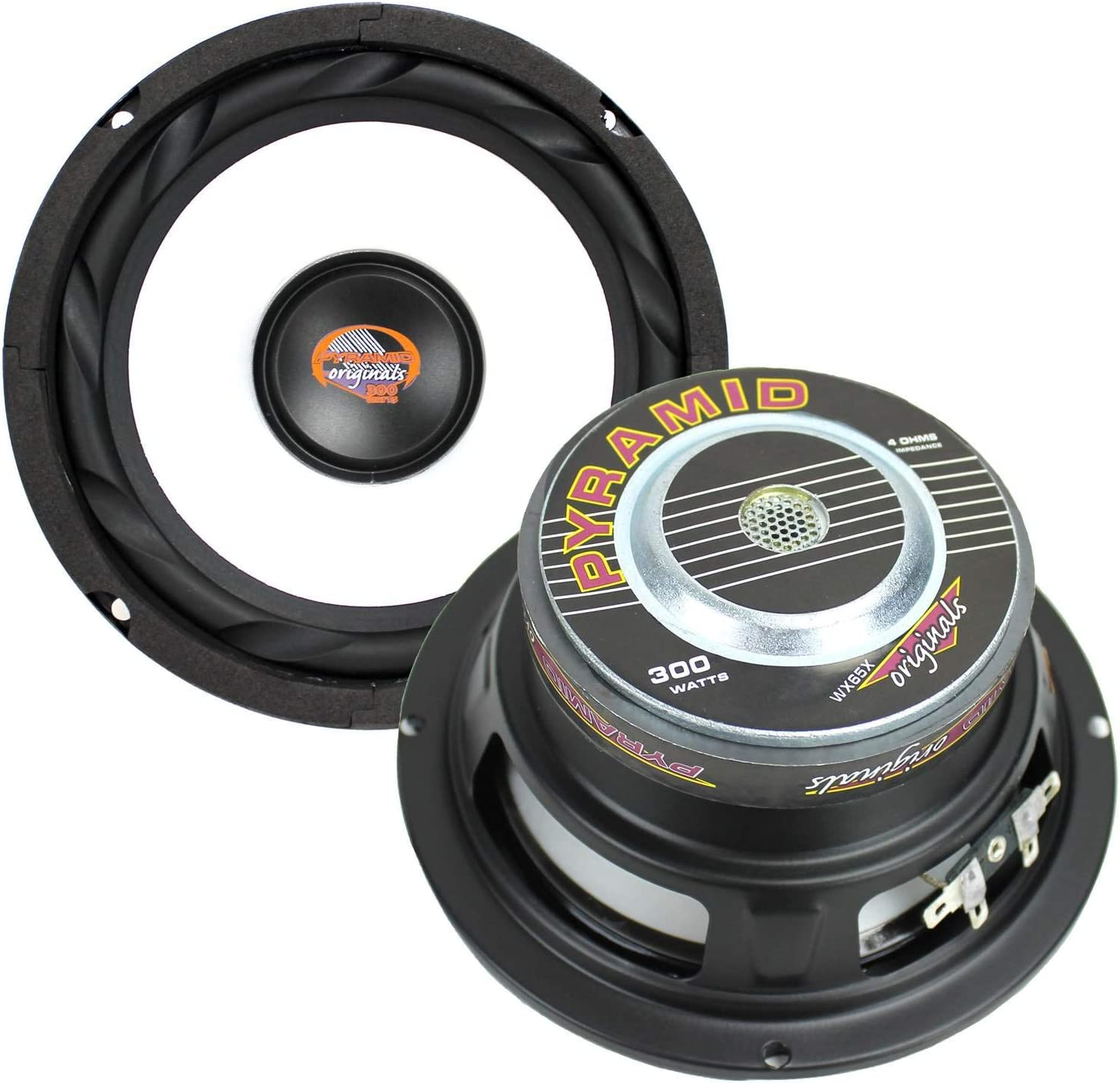 PYRAMID WX65X 6.5 1200W Car Audio Subwoofers Subs Power Woofers 4 Ohm