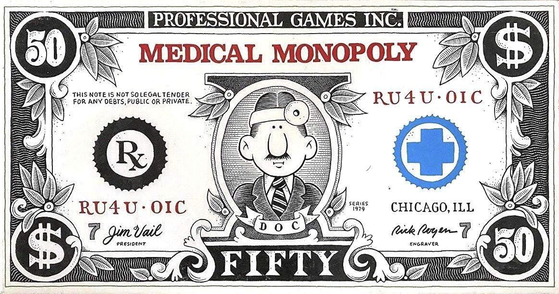 Medical Monopoly - Juego de Mesa (edición 1979): Amazon.es: Juguetes y juegos