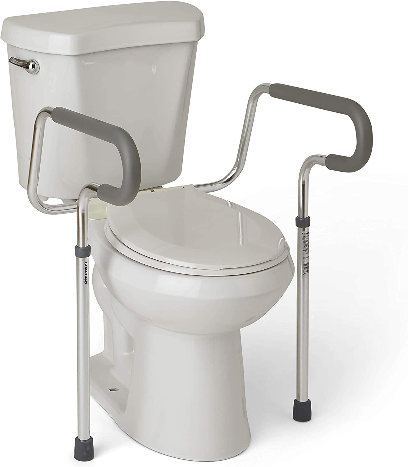 best toilet safety rails: Medline's Guardian Toilet Safety Rail