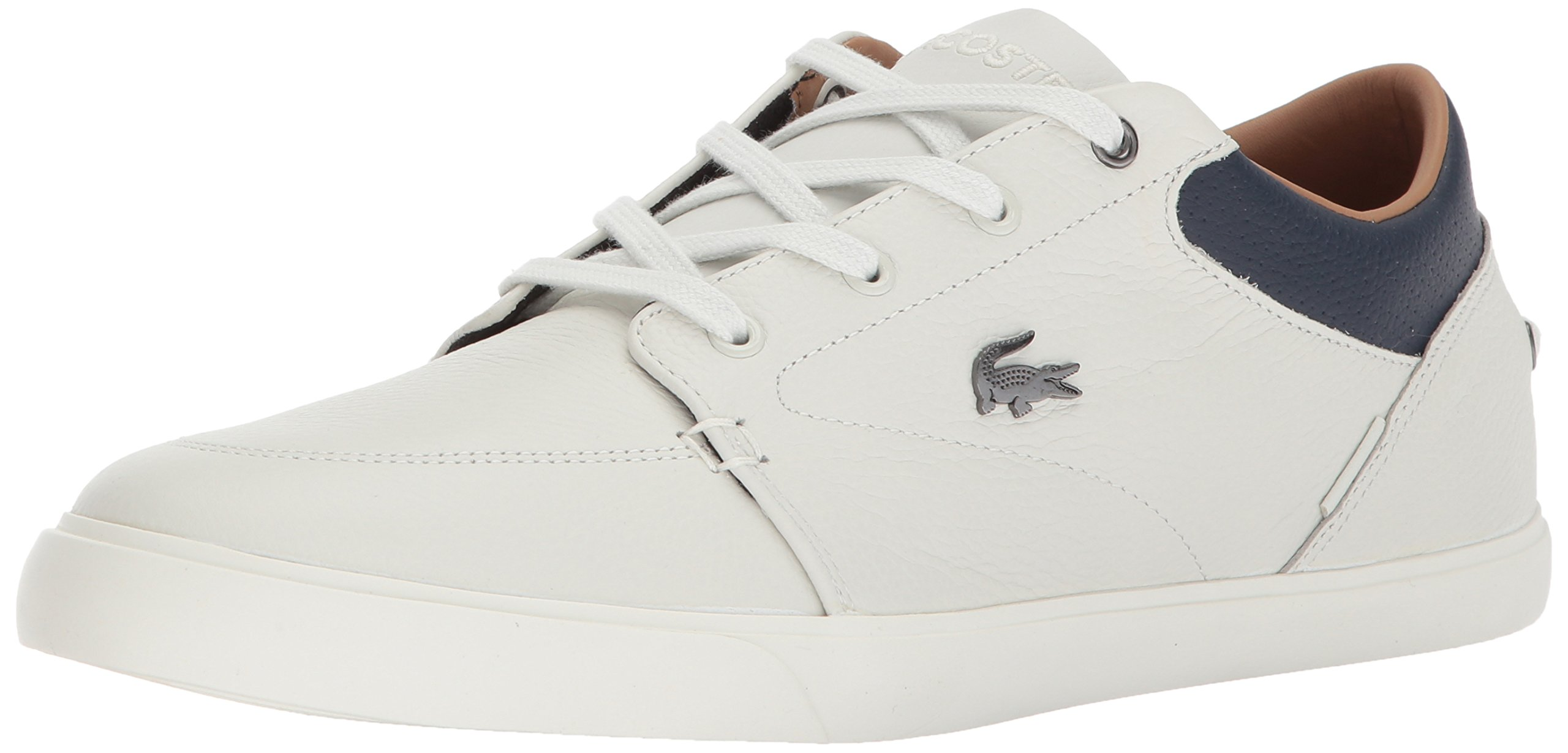 Sneakers, Off White/Nvy Leather