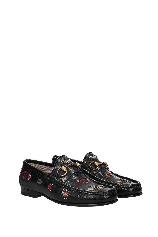 Gucci Mocasines Hombre - Piel (493492D3V00) EU: Amazon.es: Zapatos y complementos