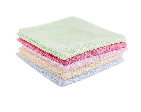 taprilt antibacteriano 100% bambú Toallitas, toallitas faciales, hipoalergénico piel sensible toallitas para bebé