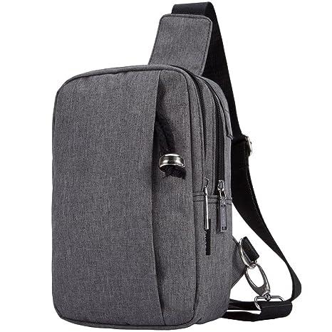 MEYFANCY Mini Backpack Cross Body Sling Bag for Women or Men a76cc8a2e8dca