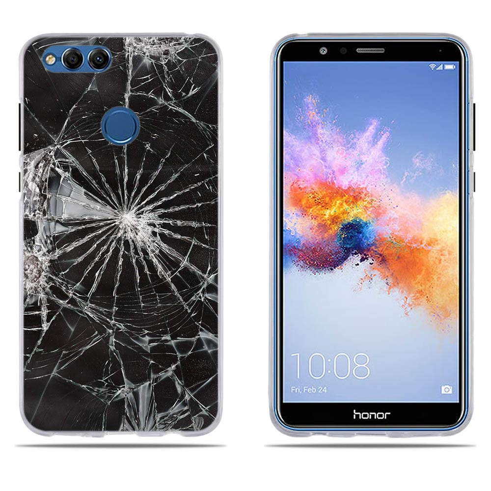 DIKAS Funda Huawei Honor 7X, Carcasa de Silicona ...