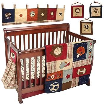 NoJo My Little MVP 9 -Piece Crib Bedding Set