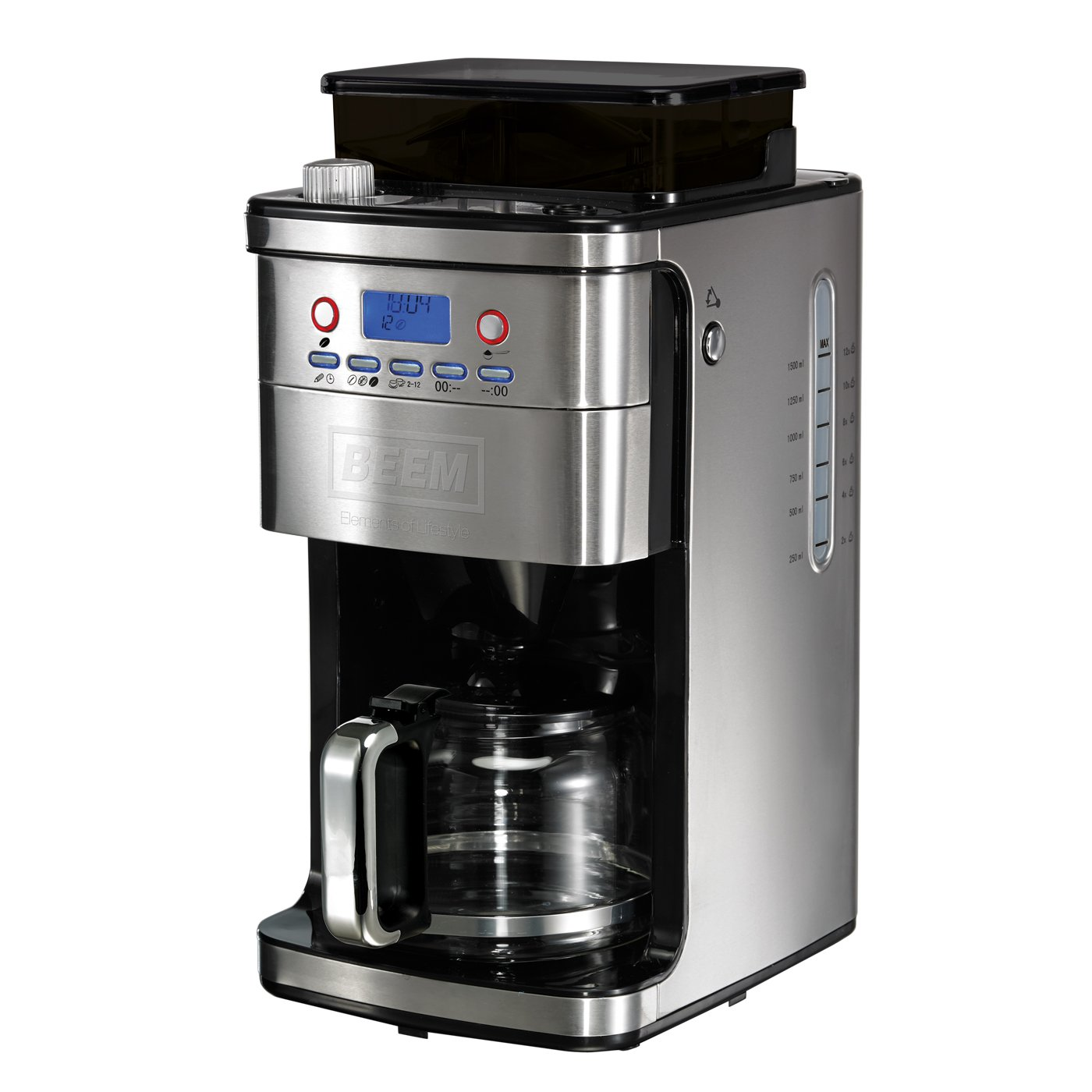 BEEM Germany Fresh Aroma Perfect Superior Cafetera completamente automática mecanismo molturador cónico