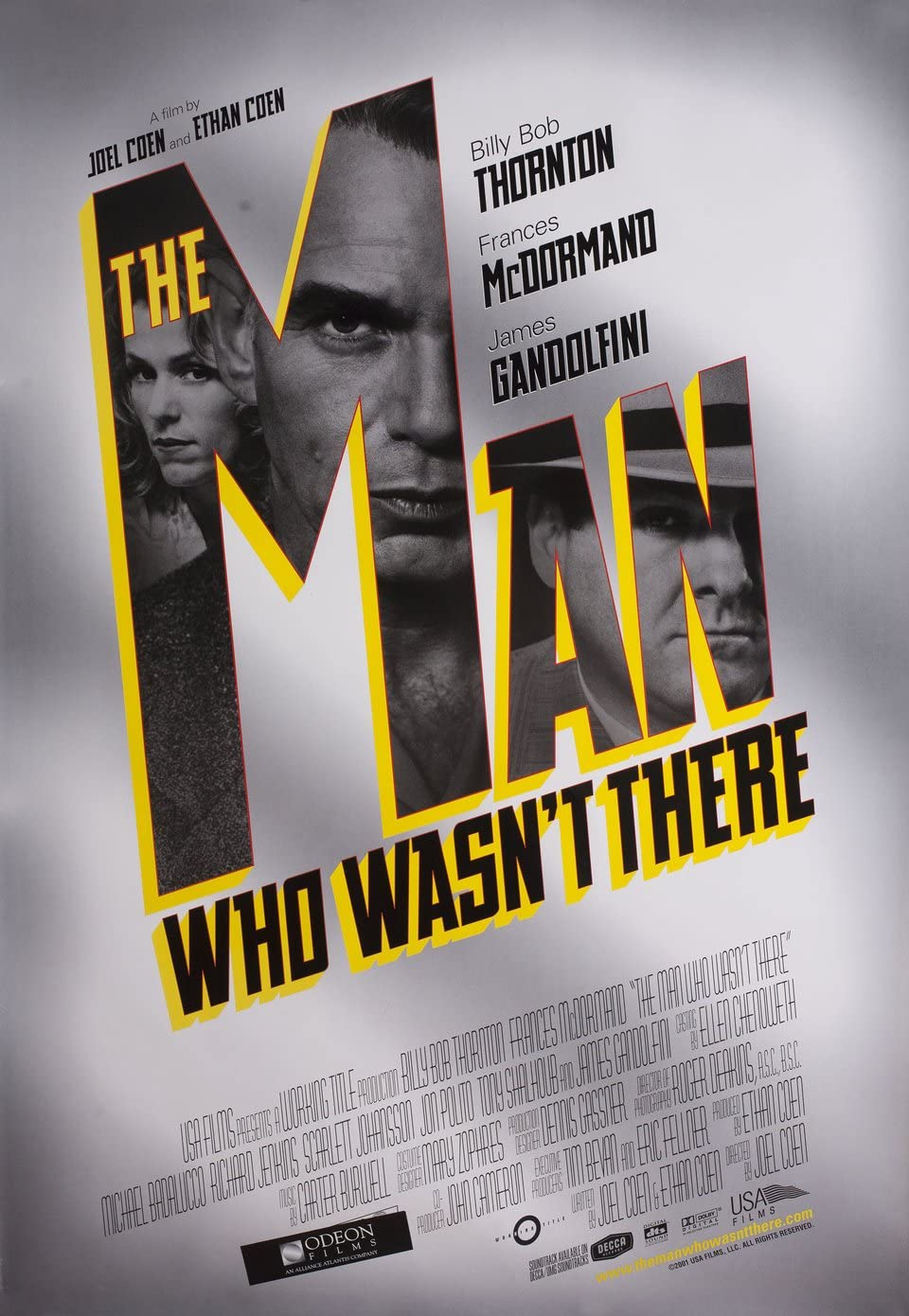 The Man Who Wasn't There 2001 U.S. One Sheet Poster at Amazon's Entertainment Collectibles Store