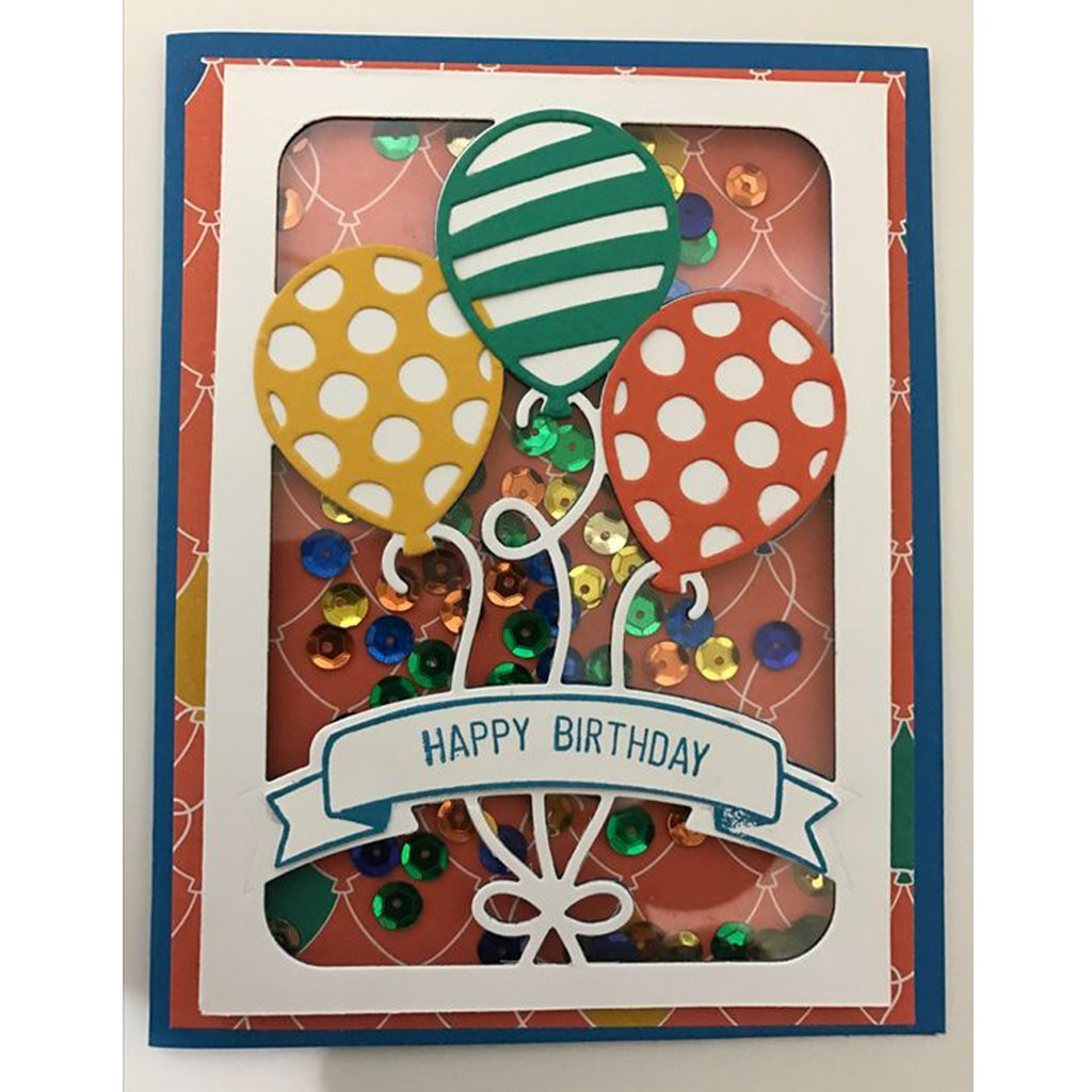Yeahii Balloon Cutting Dies Stencil DIY Scrapbooking Embossing Album Paper Card Crafts by Yeahii (Image #4)