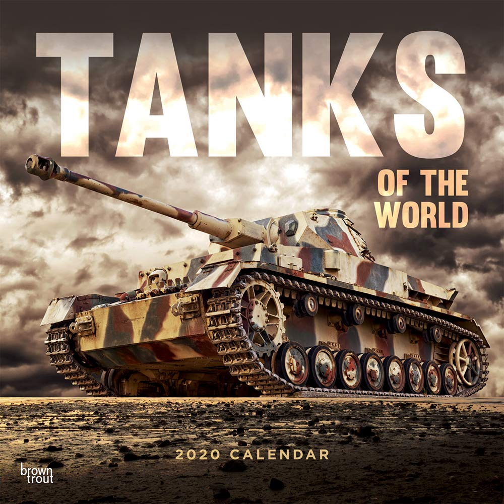 World Of Tanks Calendar 2021 Amazon.com: Tanks of the World 2020 12 x 12 Inch Monthly Square