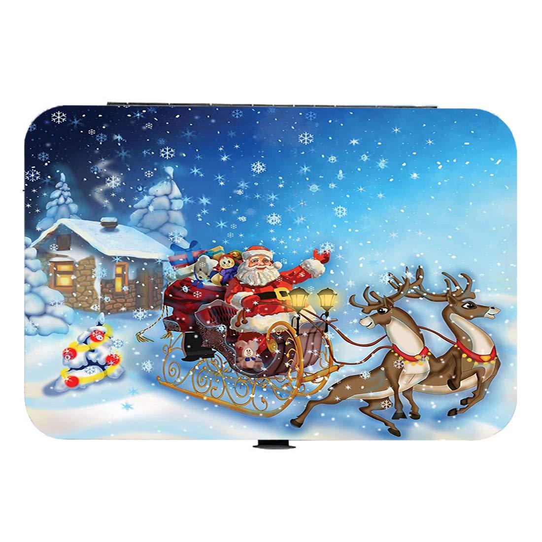 Cortaúñas 15 piezas Juego de manicura y pedicura Navidad Kit de ...