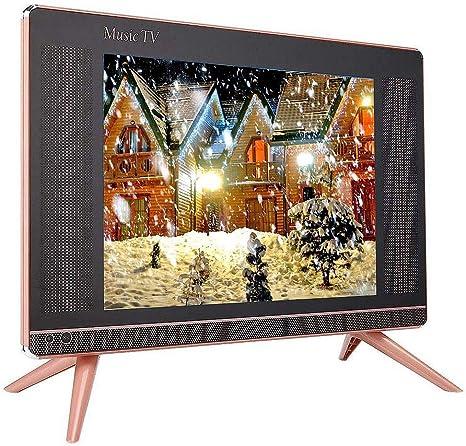 Bewinner Televisor Inteligente HD de 15 Pulgadas con Soporte para TV, TV LCD 1366x768 16: 9 Mini TV Inteligente portátil VGA/HDMI/USB/AV: Amazon.es: Electrónica