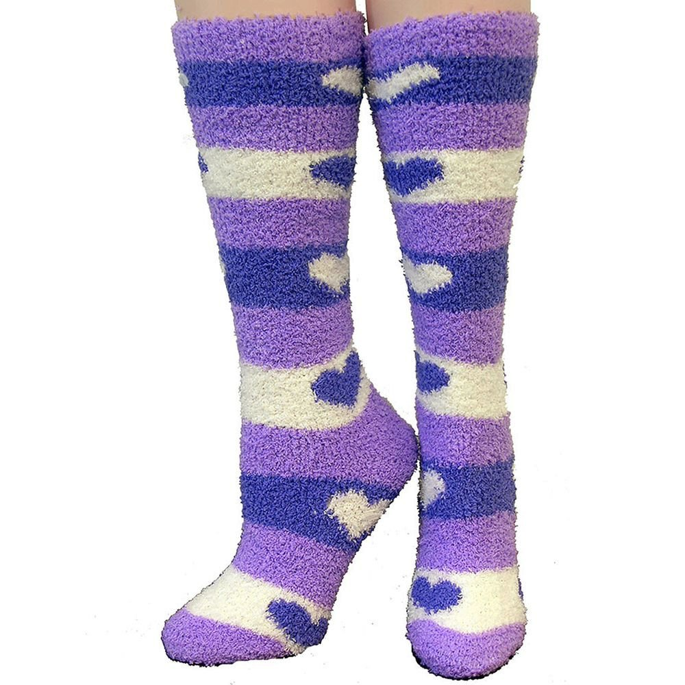 Cozzie Soft Heart Socks INTREPID INTERNATIONAL