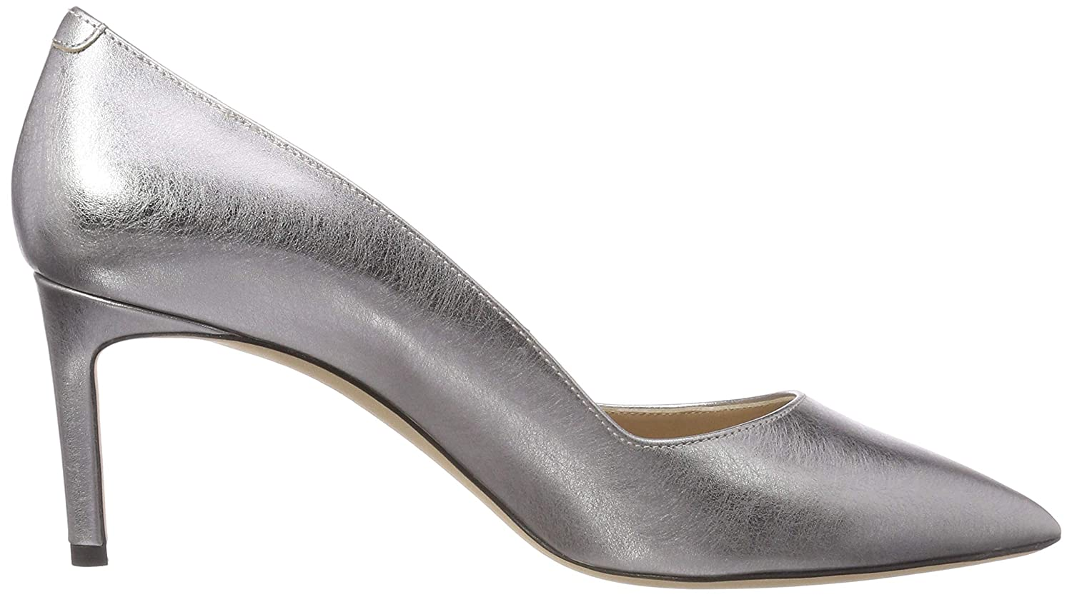 HUGO Damen Mayfair Silber Pump 70-Lam Pumps Silber Mayfair (Silver 049) bad440
