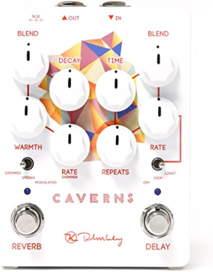 Used Keeley Caverns Delay Reverb V2 Guitar Effects Pedal