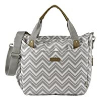 Bababing Roma Changing Bag (Grey Chevron)