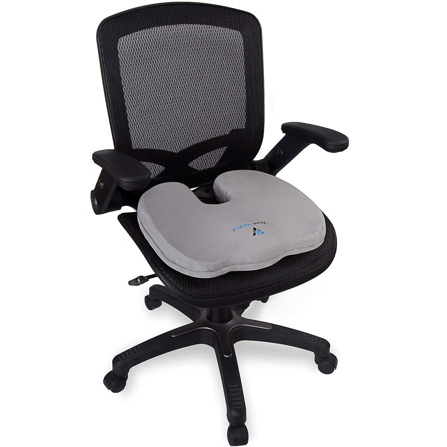 Amazon.com: Vaunn Medical Firm Seat Cushion - Cojín para ...