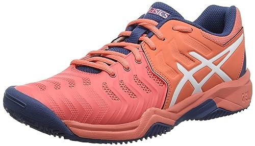 ASICS Gel-Resolution 7 Clay GS, Zapatillas de Tenis Unisex Niños
