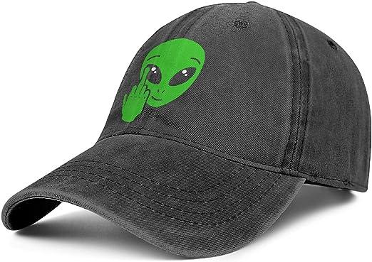 Alien - Gorra clásica para Hombre con Dedo Medio Ajustable ...