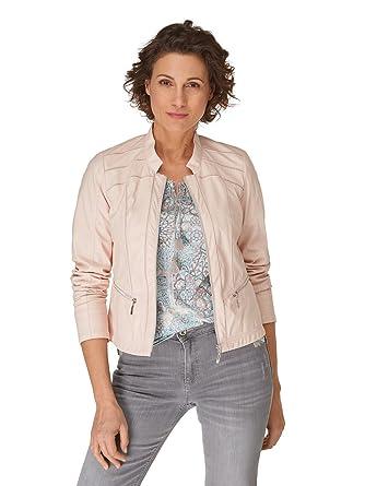 wie man serch Auschecken Preis vergleichen Bonita Damen Jacke aus Kunstleder