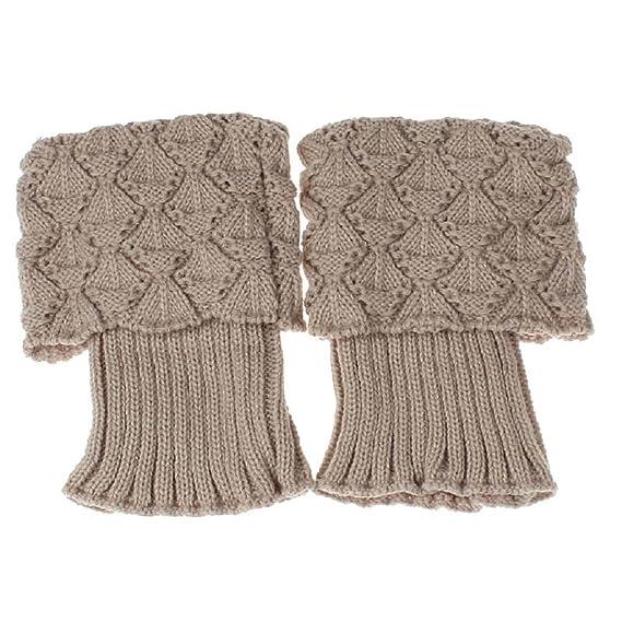 calcetines,RETUROM Nuevo estilo de la moda de las mujeres de punto de ganchillo del