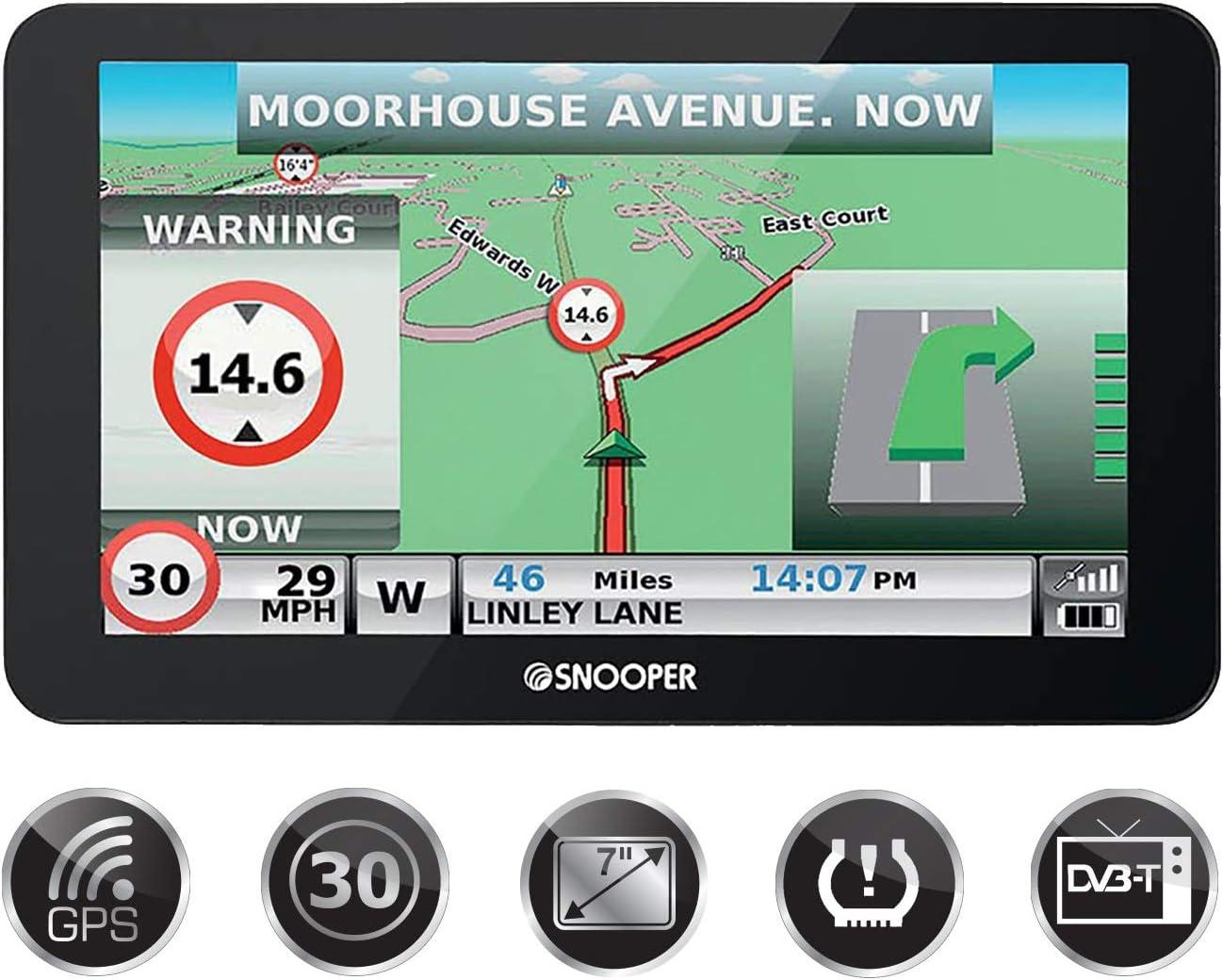 Snooper Truckmate Pro S8110 LKW - Navegador GPS: Amazon.es ...