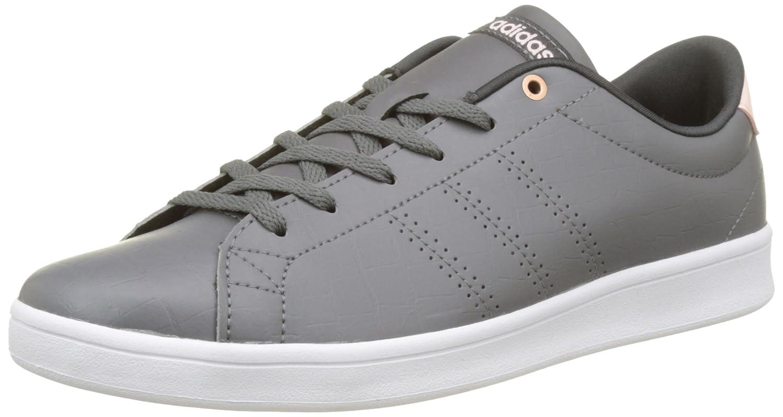Adidas Advantage Cl Qt W, Zapatillas para Mujer 41 1/3 EU|Verde (Grey Four /Utility Black )