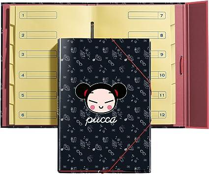 Miquelrius 14902 Separator Folder Never Stop Pucca