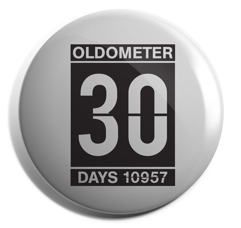 Hippowarehouse OLDOMETER 30 Badge Pin