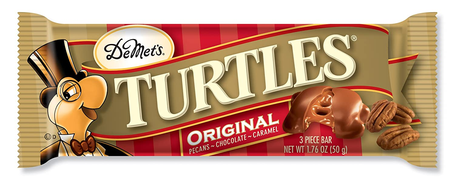 Amazon.com : Turtles Milk Chocolate (3 Piece), 1.76-Ounce Packages ...