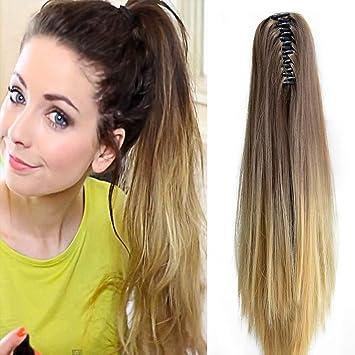 Neverland Haarteil Zopf Pferdeschwanz Haarteil Ombre Extensions Haar