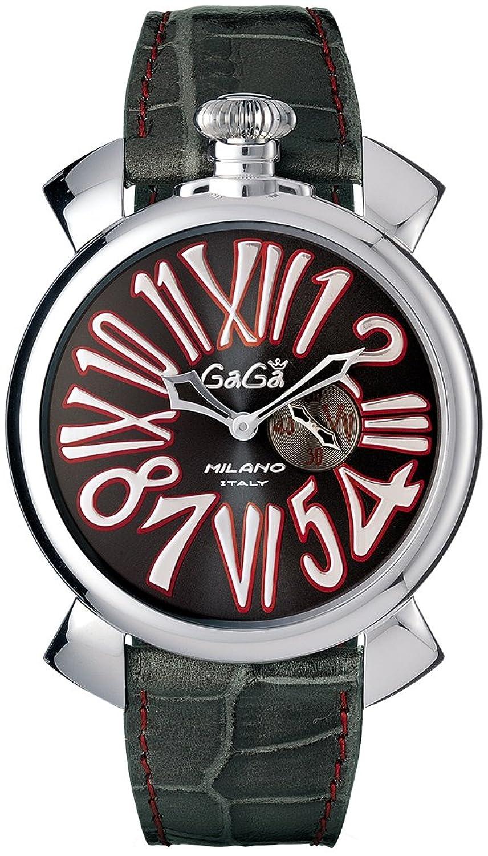 GAGA MILANO(ガガミラノ) 5084.2 SLIM 46MM 腕時計 レザーベルト [並行輸入品] B01FCS4CVM
