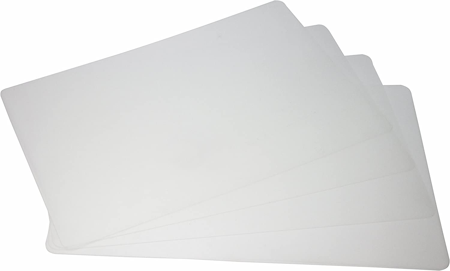Generic Frosted Clear Plactic Placemat for Table,Dining,Kitchen Pack of 10