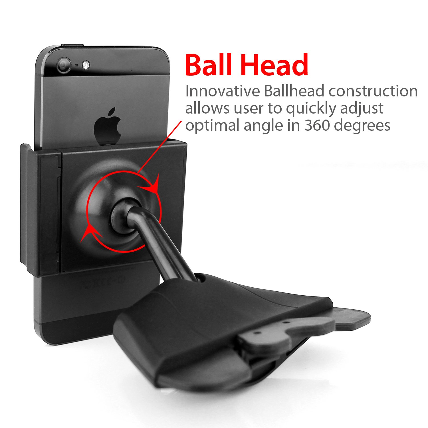 Koomus cd air cd slot smartphone car mount holder cradle for all iphone and android devices black amazon ca cell phones accessories