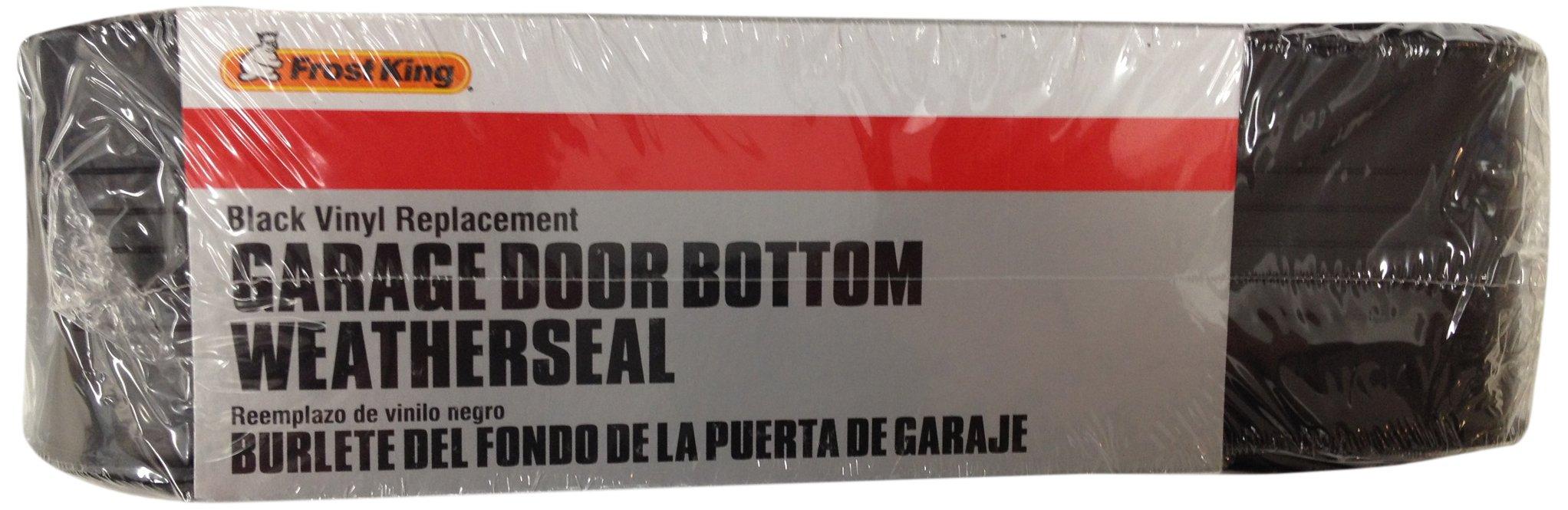 Frost King RV18 Vinyl 2-Car Garage Door Bottom Weather-Seal Replacement