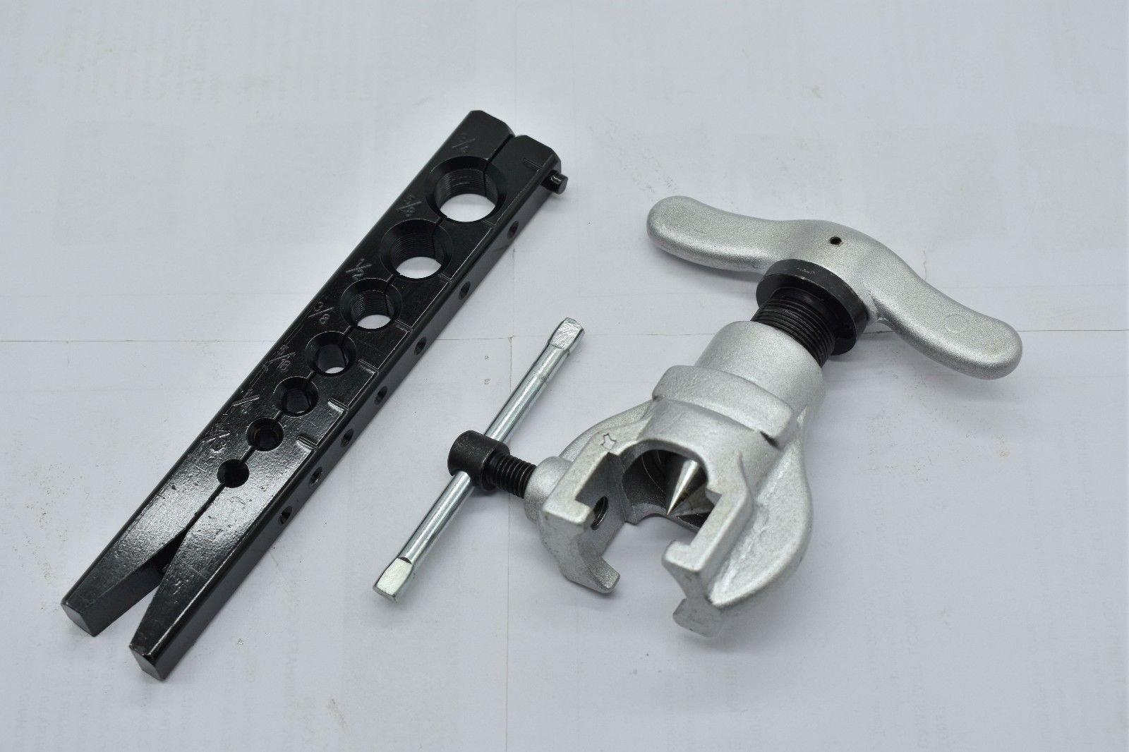 JINDITAI 37 Degree Non Ratchet Eccentric Pipe Flaring Tools SAE 3/16''-3/4'' by JINDITAI (Image #2)