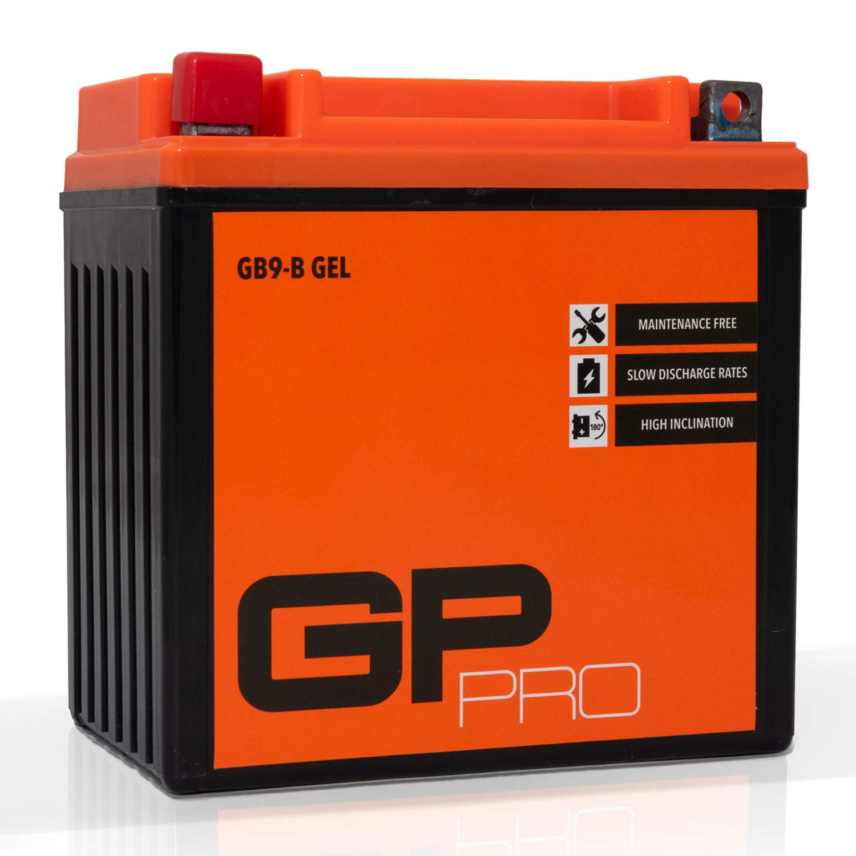 /Ähnlich YB9-B // CB9-B Akkumulator Motorrad Roller Motorradbatterie Rollerbatterie GP-PRO GB9-B 12V 9Ah Gel-Batterie Wartungsfrei // Versiegelt