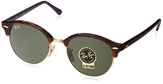 4b73aabff9326 Óculos de Sol Ray Ban Clubround Classic RB4246 990-51  Amazon.com.br ...