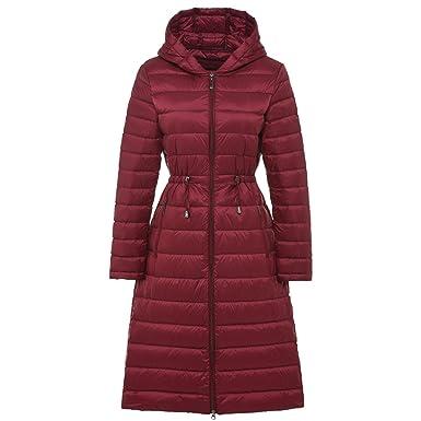 3c3692bd789 Joddie Haha Woman Long Weightless Jacket Female Hooded Ultra Light Padded  Jackets Winter Down Coat Casual